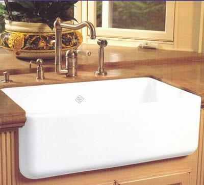 Large Apron Sink : Rohl RC3018 Kitchen Apron Sink ?Shaw?s Original?